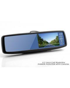 Backspegelkamera med 4.3