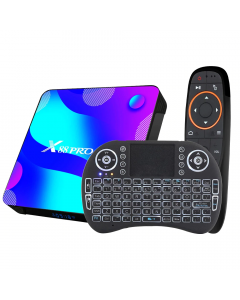 Android TV Box 4K X88 PRO, Android 10, 128GB, WiFi 2,4&5,8G, Två Fjärrkontroller, Bluetooth