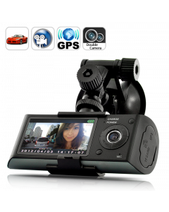Bilkamera med gps loggning