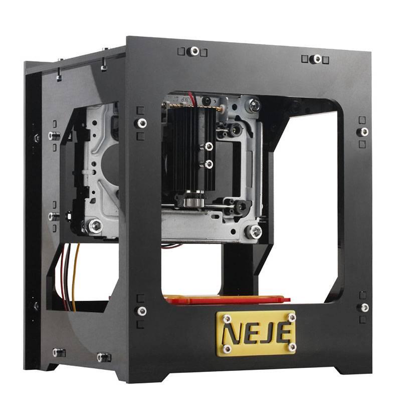 High-Speed Lasergraveringsmaskin, 1000mW, Lättanvänd mjukvara, Plug and play